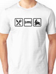 Eat sleep ATV Quad  Unisex T-Shirt