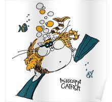 Mississippi Catfish Poster