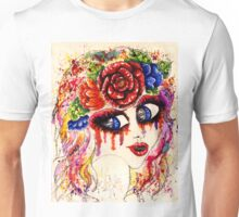 Girl in Flower Crown Unisex T-Shirt