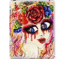 Girl in Flower Crown iPad Case/Skin