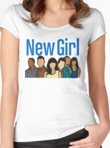 New Girl Women's Fitted Scoop T-Shirt