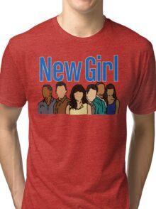 New Girl Tri-blend T-Shirt