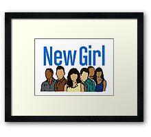 New Girl Framed Print