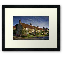 Gillamoor Cottages Framed Print