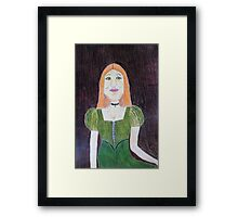 An Irish Girl Framed Print