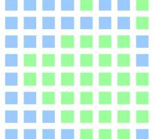 Pixel Pastel Earth Sticker