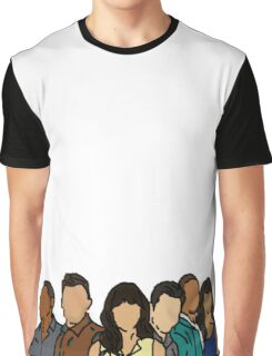 New Girl in Color Graphic T-Shirt