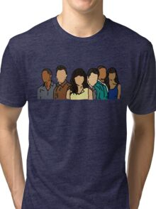 New Girl in Color Tri-blend T-Shirt
