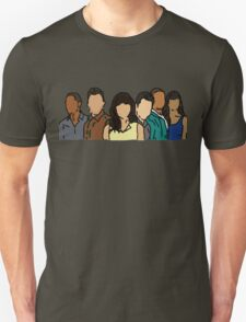 New Girl in Color T-Shirt