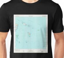 USGS TOPO Map Puerto Rico PR Cayo Icacos 362075 1958 20000 Unisex T-Shirt