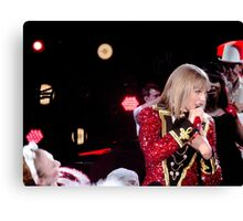 Taylor Swift The Red Tour Canvas Print