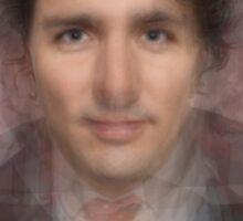 Justin Trudeau Portrait Sticker