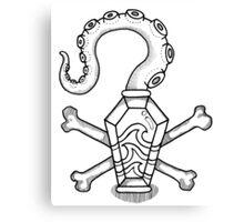 Davy Jones' Locker: Memento Mori Canvas Print