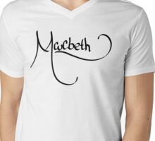 Macbeth Mens V-Neck T-Shirt