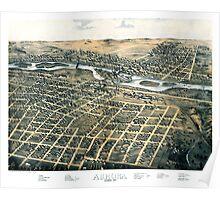 Aurora - Illinois - 1867 Poster