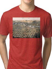 Aurora - Illinois - 1867 Tri-blend T-Shirt