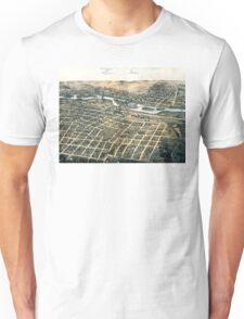 Aurora - Illinois - 1867 Unisex T-Shirt