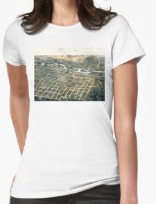 Aurora - Illinois - 1867 Womens Fitted T-Shirt