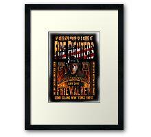 firewalker Framed Print