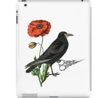 Crow & Scissors  iPad Case/Skin