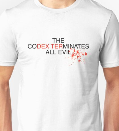 Dexters Codex Unisex T-Shirt