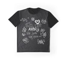 """""""I'm Not Angry It's Just My Face"""" Graphic T-Shirt"""