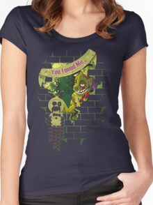 We Love Springtrap Women's Fitted Scoop T-Shirt