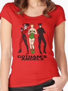 Gotham's Angels Women's Fitted Scoop T-Shirt