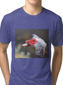 Muscovy Duck Rocking His New 'Do Tri-blend T-Shirt