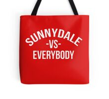 Buffy The Vampire Slayer SUNNYDALE VS EVERYBODY Scooby Gang Tote Bag
