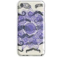 Mustache Mandala iPhone Case/Skin