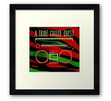 a tribe in tape Framed Print