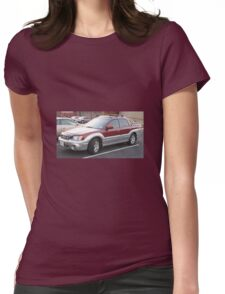 Subaru Baja Womens Fitted T-Shirt