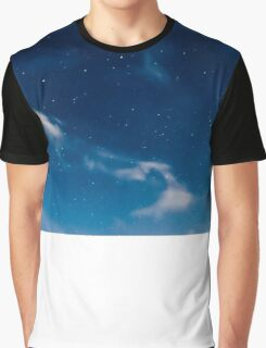 Nighttime star sky Graphic T-Shirt