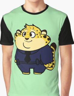 Chibi Officer Clawhauser Graphic T-Shirt