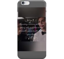 Magnus and Alec  iPhone Case/Skin