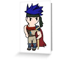 Ike Pixel  Greeting Card