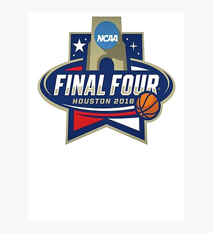 NCAA Men's Basketball March Madness Final Four Houston 2016 Photographic Print