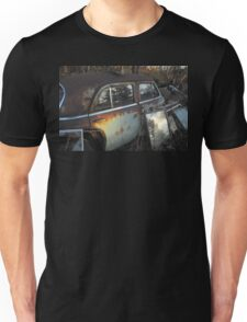 Ran out of Gas!  Abandoned car. Unisex T-Shirt