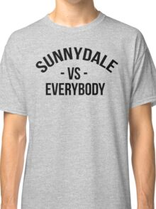 Buffy The Vampire Slayer SUNNYDALE VS EVERYBODY Scooby Gang Classic T-Shirt