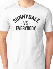 Buffy The Vampire Slayer SUNNYDALE VS EVERYBODY Scooby Gang Unisex T-Shirt