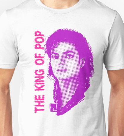 the king of pop m jackson Unisex T-Shirt