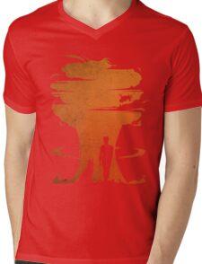 Nuclear war Mens V-Neck T-Shirt