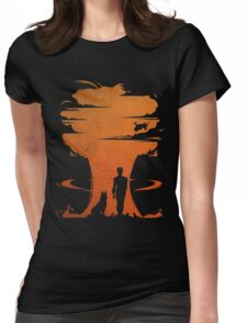 Nuclear war Womens Fitted T-Shirt