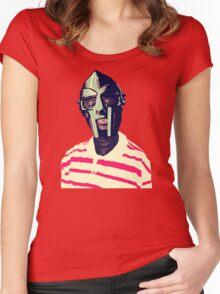 Meentre MF Doom Mask Vector Women's Fitted Scoop T-Shirt