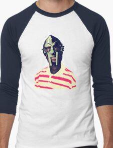 Meentre MF Doom Mask Vector Men's Baseball ¾ T-Shirt