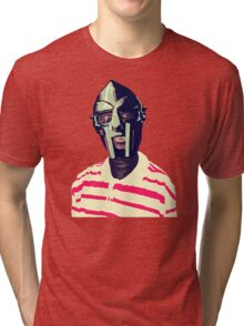 Meentre MF Doom Mask Vector Tri-blend T-Shirt