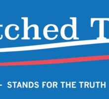 Wretched Tooth 2016 Blue Sticker