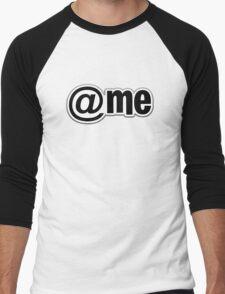 At Me Pattern Men's Baseball ¾ T-Shirt