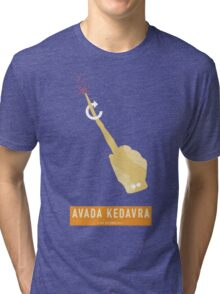 Avada Kedavra! Tri-blend T-Shirt